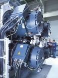 Servomotoren für eine Pressenlinie