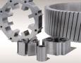 Rotor- und Statorblechpakete für einen Industriemotor