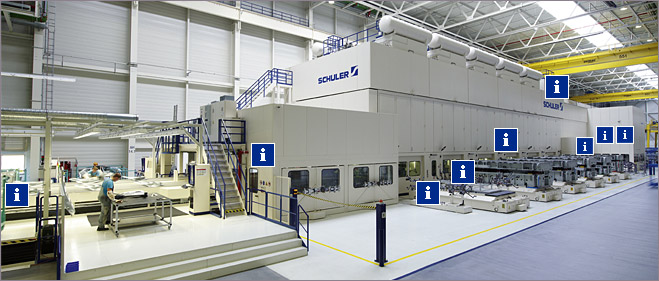 High Speed In The Stamping Plant