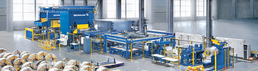 SCHULER - customized first-rate technology in all areas of forming